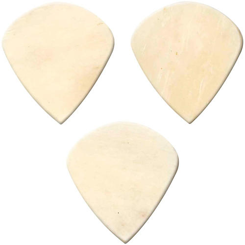 Clayton Exotic Bone Jazz Guitar Picks - 3-Pack