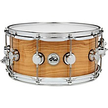 Open Box DW Exotic Figured Olive Ash Lacquer Snare