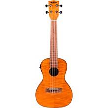 Open BoxKala Exotic Mahogany Acoustic-Electric Concert Ukulele