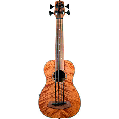 Kala Exotic Mahogany Fretless Acoustic-Electric U-BASS