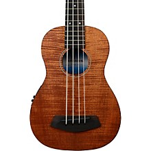 Open Box Kala Exotic Mahogany U-Bass Ukulele Bass Fretted
