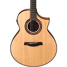 Open Box Ibanez Exotic Wood AEW23ZW-NT  Acoustic-Electric Guitar