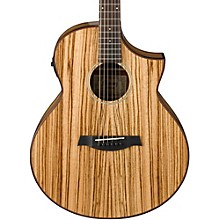 Open BoxIbanez Exotic Wood AEW40ZW-NT Acoustic-Electric Guitar