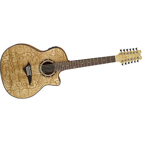Dean Exotica Quilted Ash 12 String Acoustic Electric
