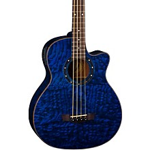 Open BoxDean Exotica Quilted Ash Acoustic-Electric Bass Guitar