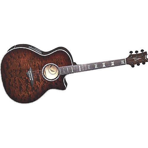 Dean Exotica Select Tiger Eye Acoustic-Electric Guitar
