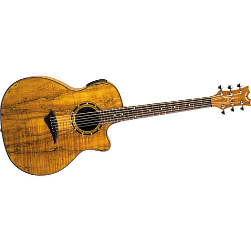Dean Exotica Spalted Maple Acoustic-Electric Guitar