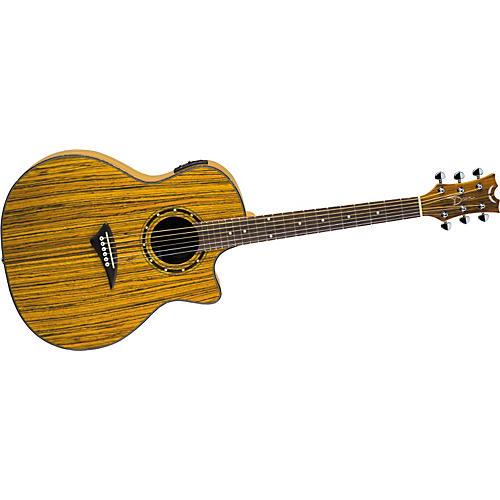 Dean Exotica Zebrawood Acoustic-Electric Guitar