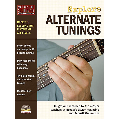 String Letter Publishing Explore Alternate Tunings String Letter Publishing Series Softcover with CD Written by Various