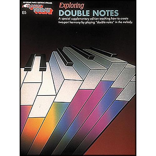 Hal Leonard Exploring Double Notes E-Z Play E5