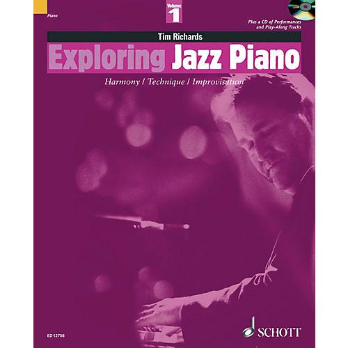 Schott Exploring Jazz Piano - Volume 1 Schott Series Softcover with CD