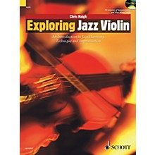 Schott Exploring Jazz Violin String Series Softcover with CD Written by Chris Haigh