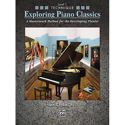 Alfred Exploring Piano Classics Technique Level 1
