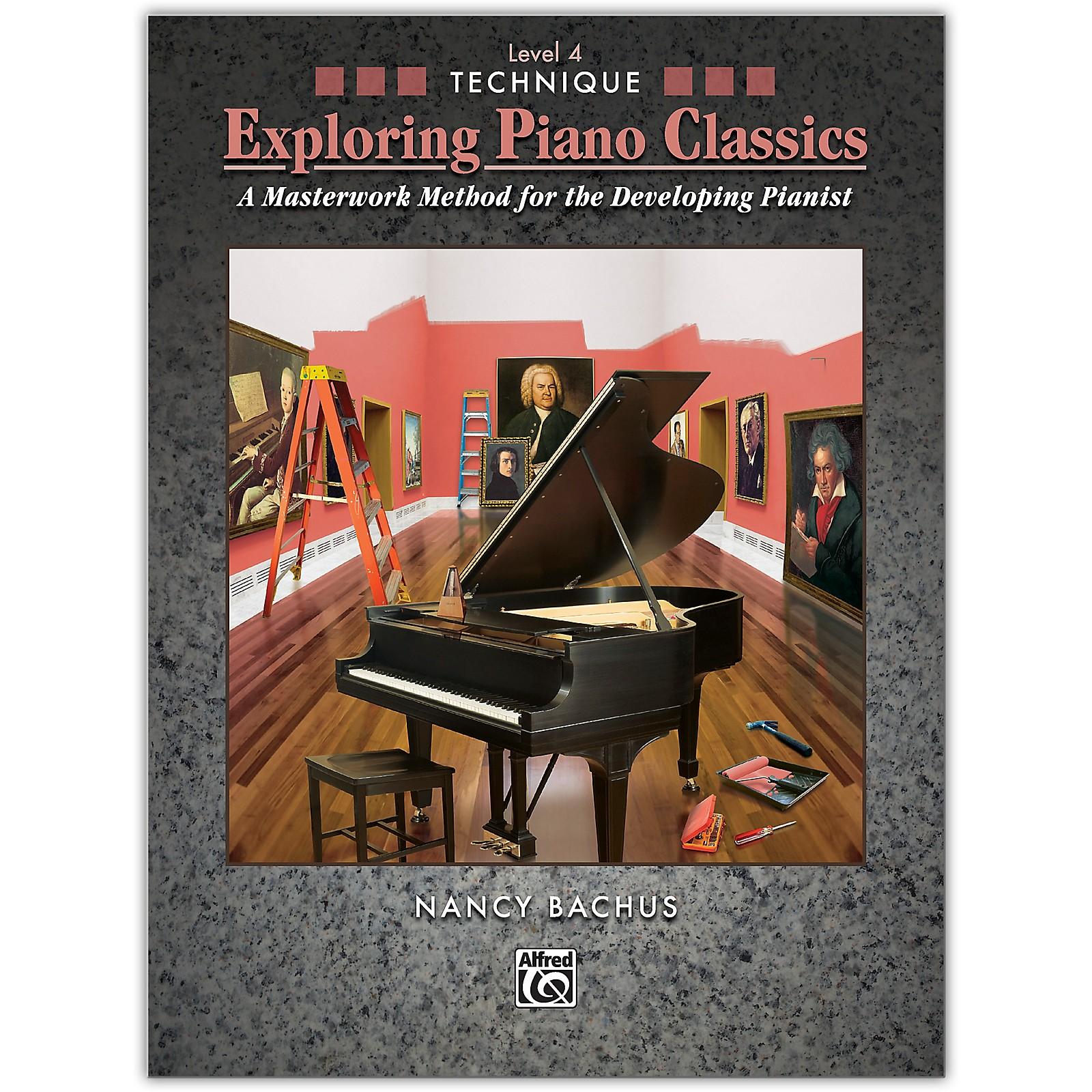 Alfred Exploring Piano Classics Technique, Level 4 Early Intermediate / Intermediate