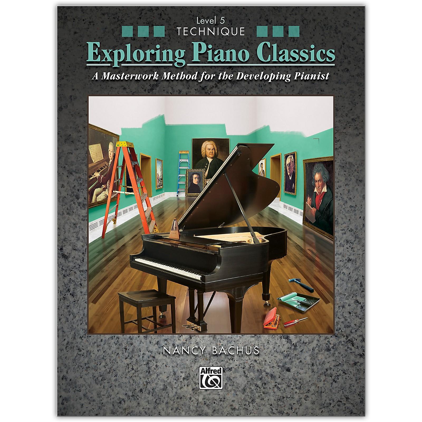 Alfred Exploring Piano Classics Technique, Level 5 Book Intermediate / Late Intermediate
