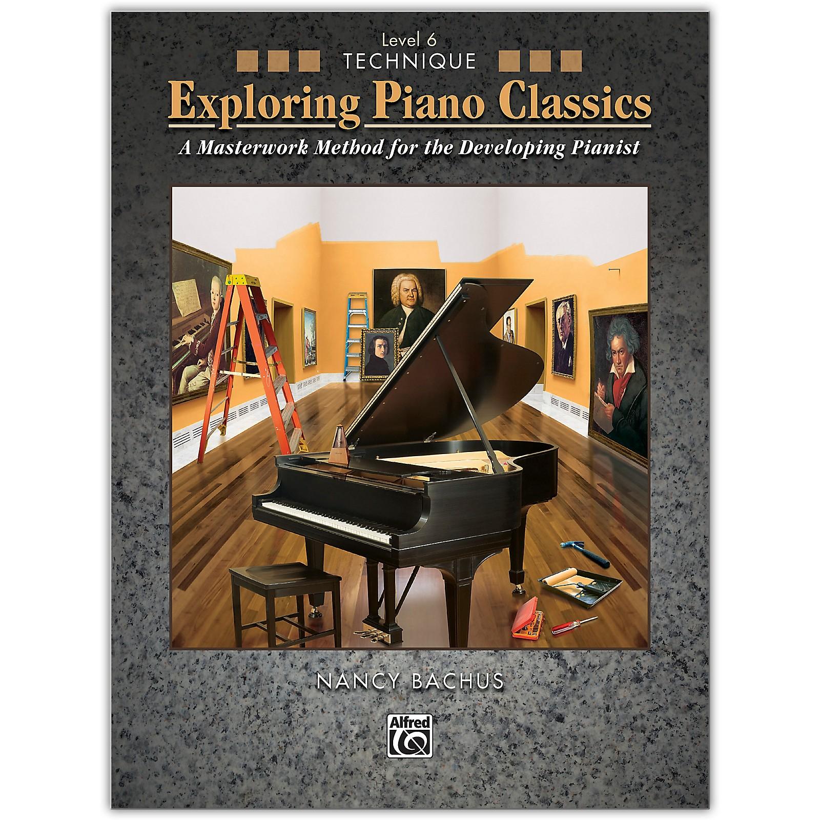 Alfred Exploring Piano Classics Technique, Level 6 Late Intermediate