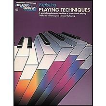 Hal Leonard Exploring Playing Techniques E3 E-Z Play