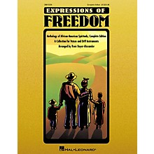 Hal Leonard Expressions Of Freedom Complete (Anthlogy of African American Spirituals) by Rene Boyer-Alexander (Orff)