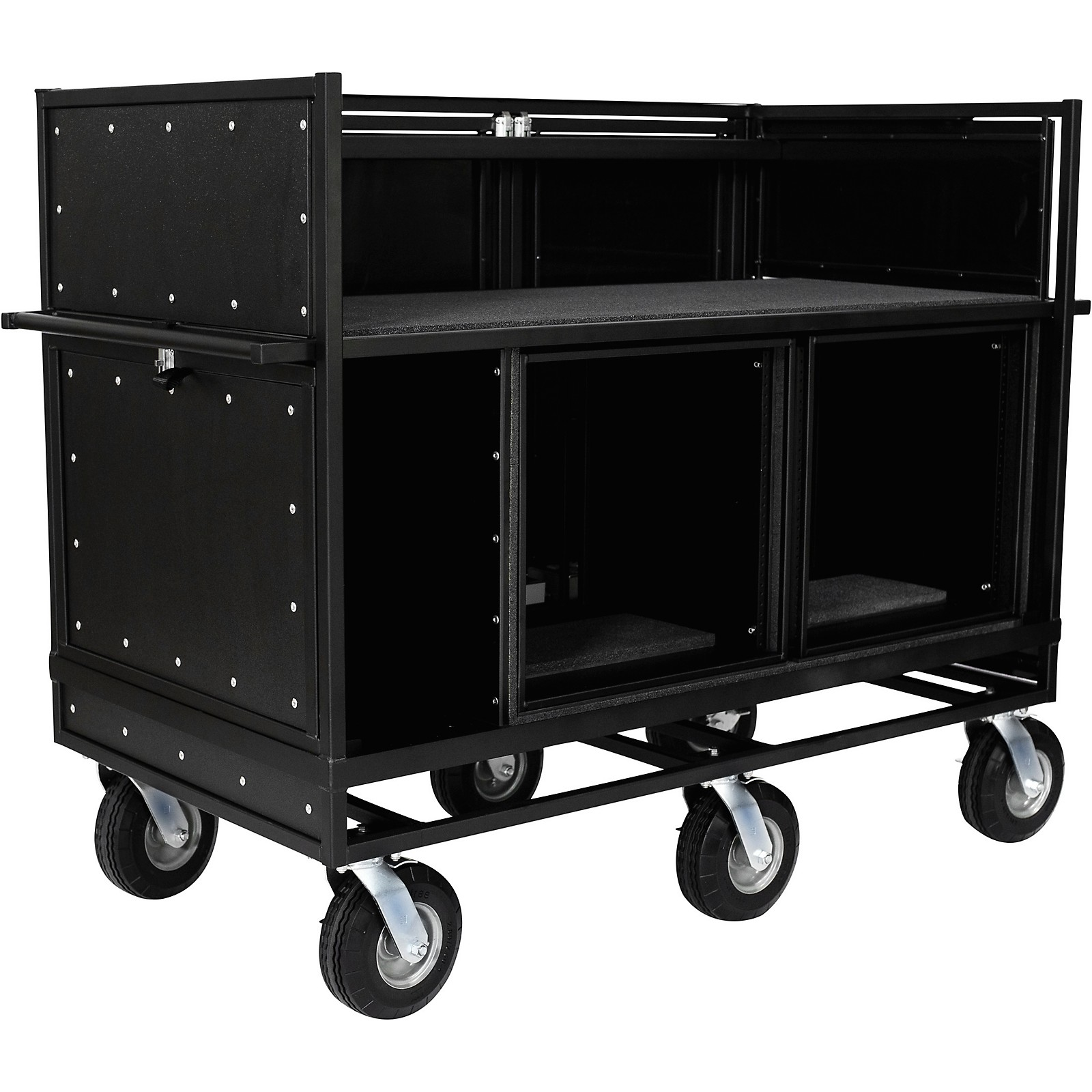 Pageantry Innovations Extended Double Mixer Cart