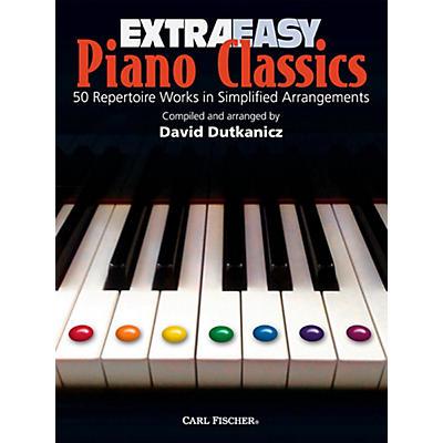Carl Fischer Extra Easy Piano Classics Book
