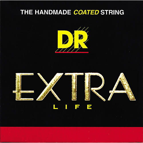 DR Strings Extra Life Coated Phosphor Bronze Acoustic Guitar Strings Extra Lite