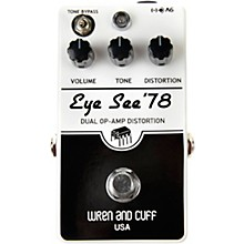 Wren And Cuff Eye See 78 Fuzz Effects Pedal