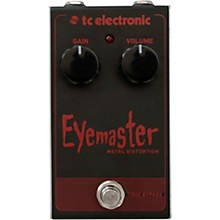 Open BoxTC Electronic Eyemaster Metal Distortion Effects Pedal