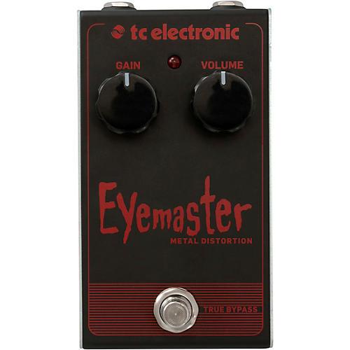 TC Electronic Eyemaster Metal Distortion Effects Pedal