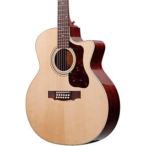 guild f 212xlce standard 12 string cutaway acoustic electric guitar musician 39 s friend. Black Bedroom Furniture Sets. Home Design Ideas