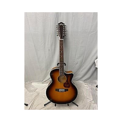 Guild F-2512CE Deluxe 12 String Acoustic Electric Guitar