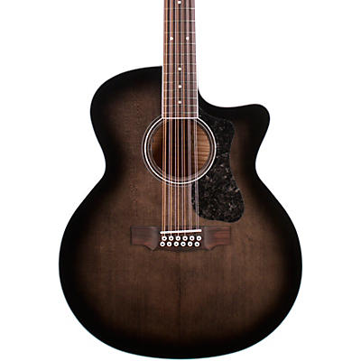 Guild F-2512CE Deluxe 12-String Cutaway Jumbo Acoustic-Electric Guitar