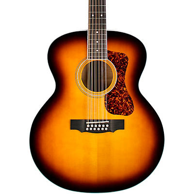 Guild F-2512E Deluxe Westerly Collection 12-String Jumbo Acoustic-Electric Guitar