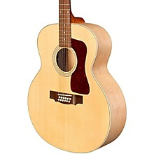 Guild F 2512E Jumbo 12 String Acoustic Electric Guitar