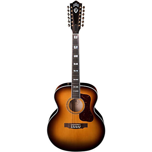 Guild F-412 Acoustic-Electric Guitar with DTAR Multi-Source Pickup System