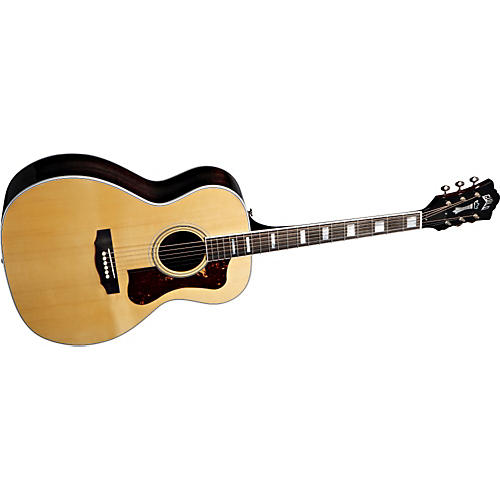 guild f 47r acoustic electric guitar with dtar multi source pickup system musician 39 s friend. Black Bedroom Furniture Sets. Home Design Ideas