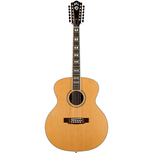 Guild F-512 Acoustic-Electric Guitar with DTAR Multi-Source Pickup System