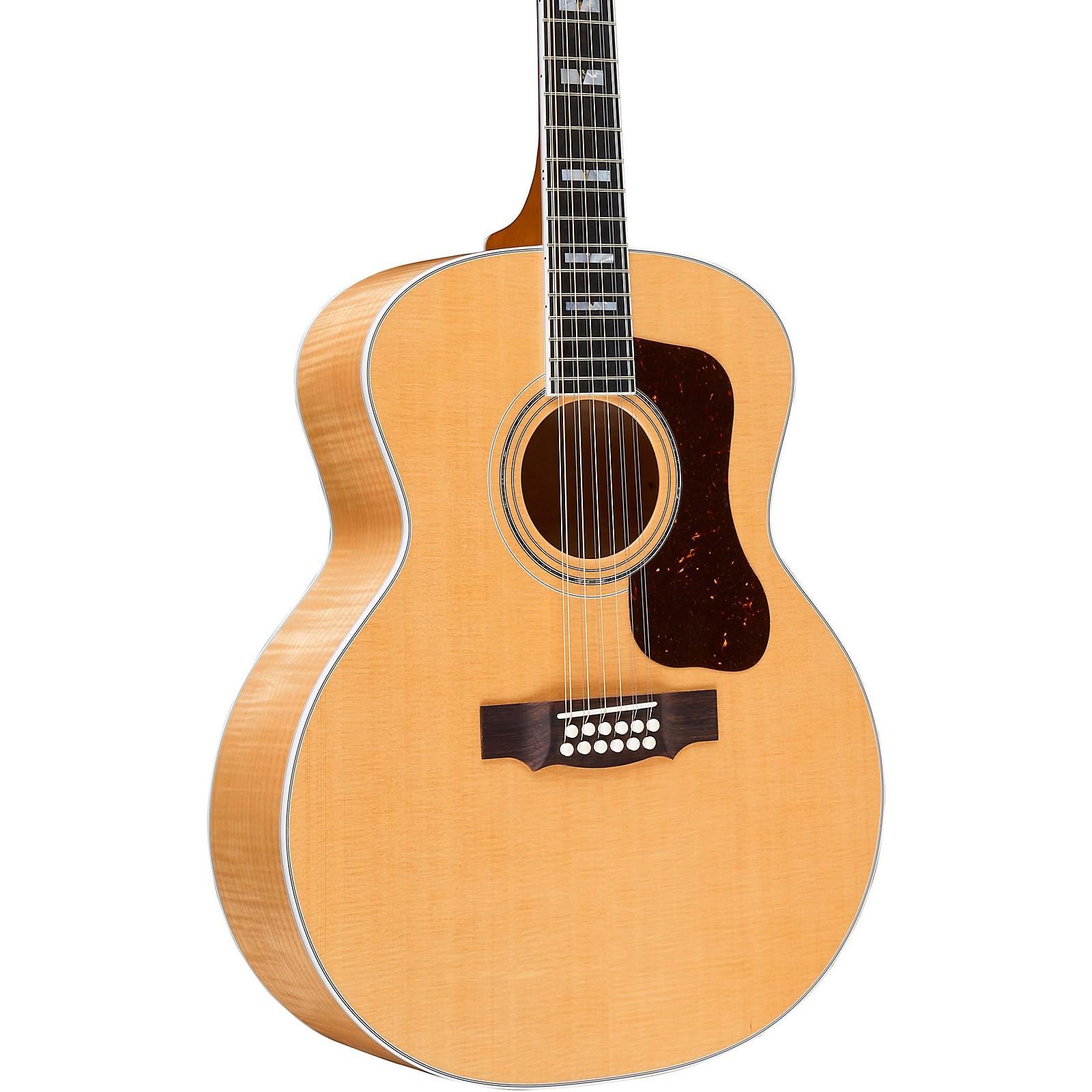 Guild F-512 Maple Jumbo 12-String Acoustic Guitar