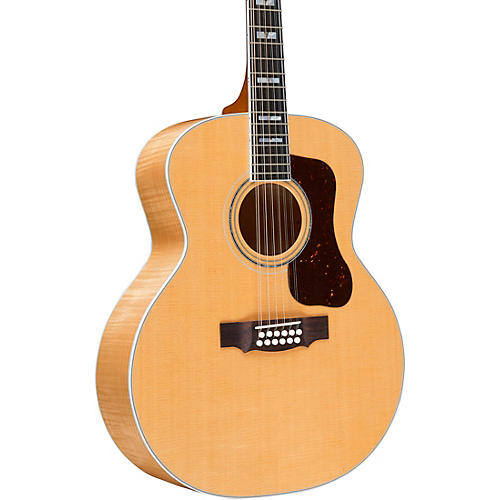 Guild F-512 Maple Jumbo 12-String Acoustic Guitar Natural