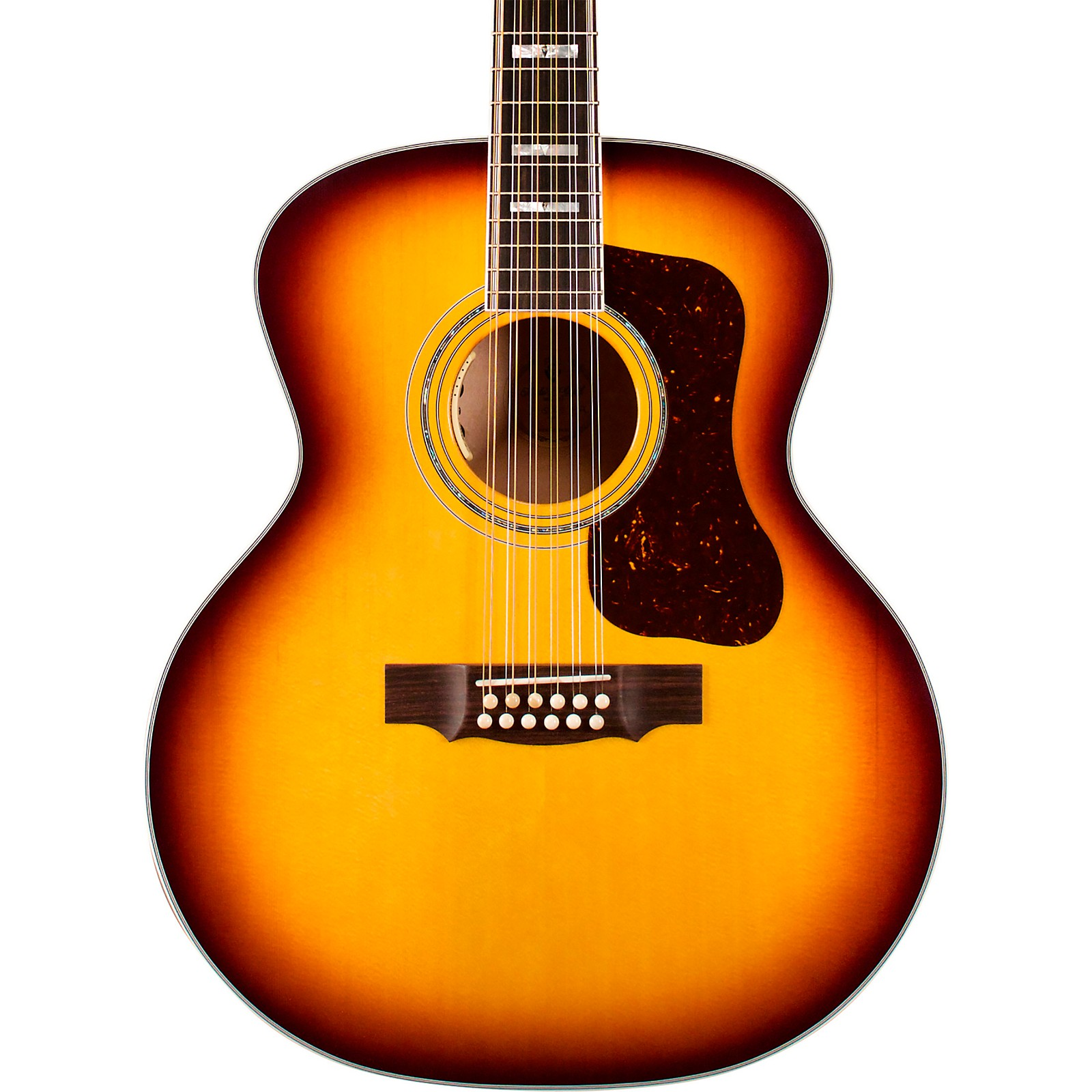 Guild F-512E Maple Jumbo 12-String Acoustic-Electric Guitar