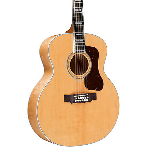 Guild F-512E Maple Jumbo 12-String Acoustic-Electric Guitar Natural