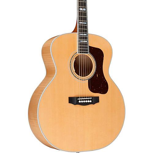 guild f 55e maple jumbo acoustic electric guitar natural musician 39 s friend. Black Bedroom Furniture Sets. Home Design Ideas