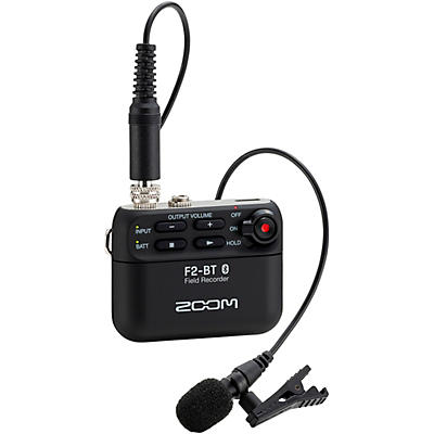 Zoom F2-BT Field Recorder with Bluetooth