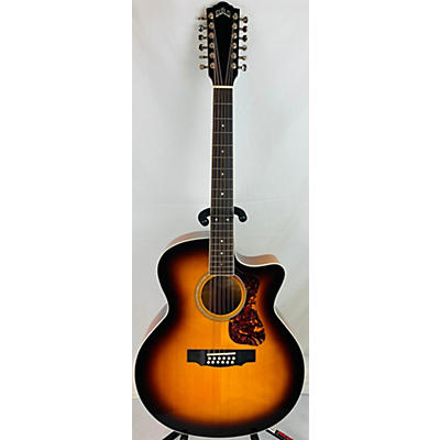 Guild F2512CE Deluxe 12 String Acoustic Electric Guitar