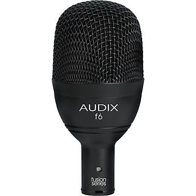 Audix F6 Kick Drum & Bass Frequencies Microphone