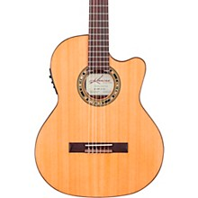 Open BoxKremona F65CW TL Thin Bodied Nylon-String Acoustic-Electric Guitar