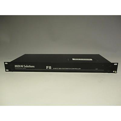 MIDI Solutions F8 MIDI Utility