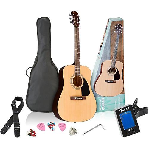 Fender FA-100 Dreadnought Acoustic Guitar Pack