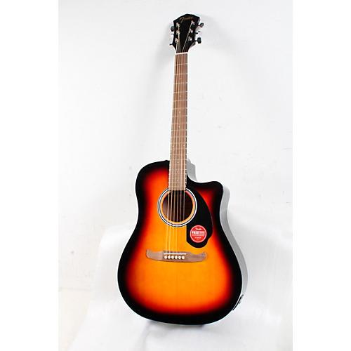 Fender FA-125CE Dreadnought Acoustic-Electric Guitar Condition 3 - Scratch and Dent Sunburst 194744407055