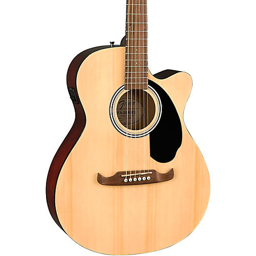 Fender FA-135CE Concert Acoustic-Electric Guitar Natural