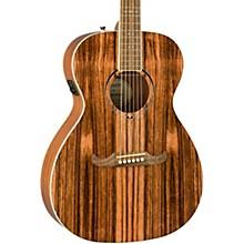 Fender FA-235E Striped Ebony Acoustic-Electric Guitar